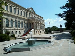 Istanbul Military Museum - Main building of Military Museum.