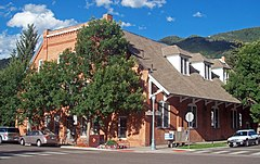 Le City Hall d'Aspen, au Colorado (États-Unis).