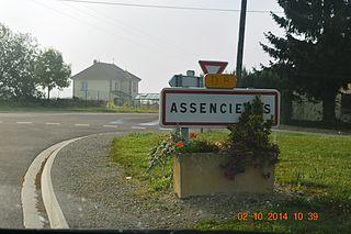 Assencières Commune in Grand Est, France
