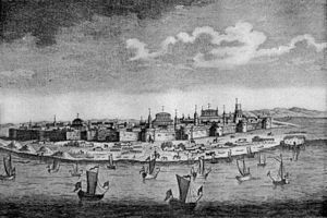 Astrakhan - Astrakhan in the 17th century