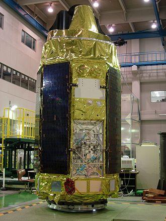 Suzaku (satellite) - Image: Astro E2