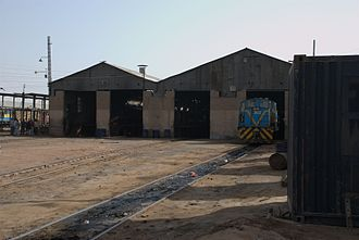 Atbara - Atbara railway factory workshop