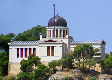 The National Observatory sits atop The Hill of Nymphon in Thiseio, Athens
