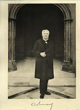 Auguste Beernaert - Auguste Beernaert around 1900.