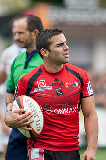 alt=Description de l'image Augustin Figuerola - US Oyonnax - Rugby club toulonnais, 28th September 2013.jpg.