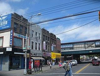 Avenue U Avenue in Brooklyn, New York