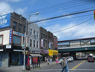 Chinatowns in Brooklyn - The developing Avenue U Chinatown