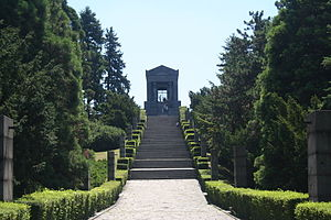 Monument to the Unknown Hero - Stairs to the monument