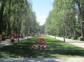 Buen Retiro Park - Avenida de México