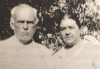 Draketown, Georgia - Dr. B.F. Eaves and his wife Nettie Frazier