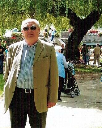 Bernard Bonnejean - Bernard Bonnejean : Feast of artists and poets (Chailland-Mayenne-France), in April 2010