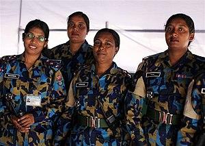 Women in Asia - Bangladeshi women peacekeepers at MONUSCO, Kinshasa