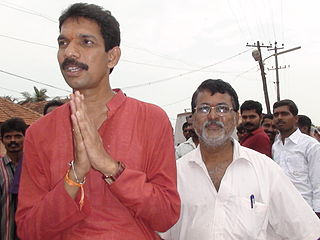 Nalin Kumar Kateel Indian politician