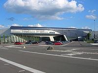 Zentralgebäude im BMW Werk Leipzig, 2004