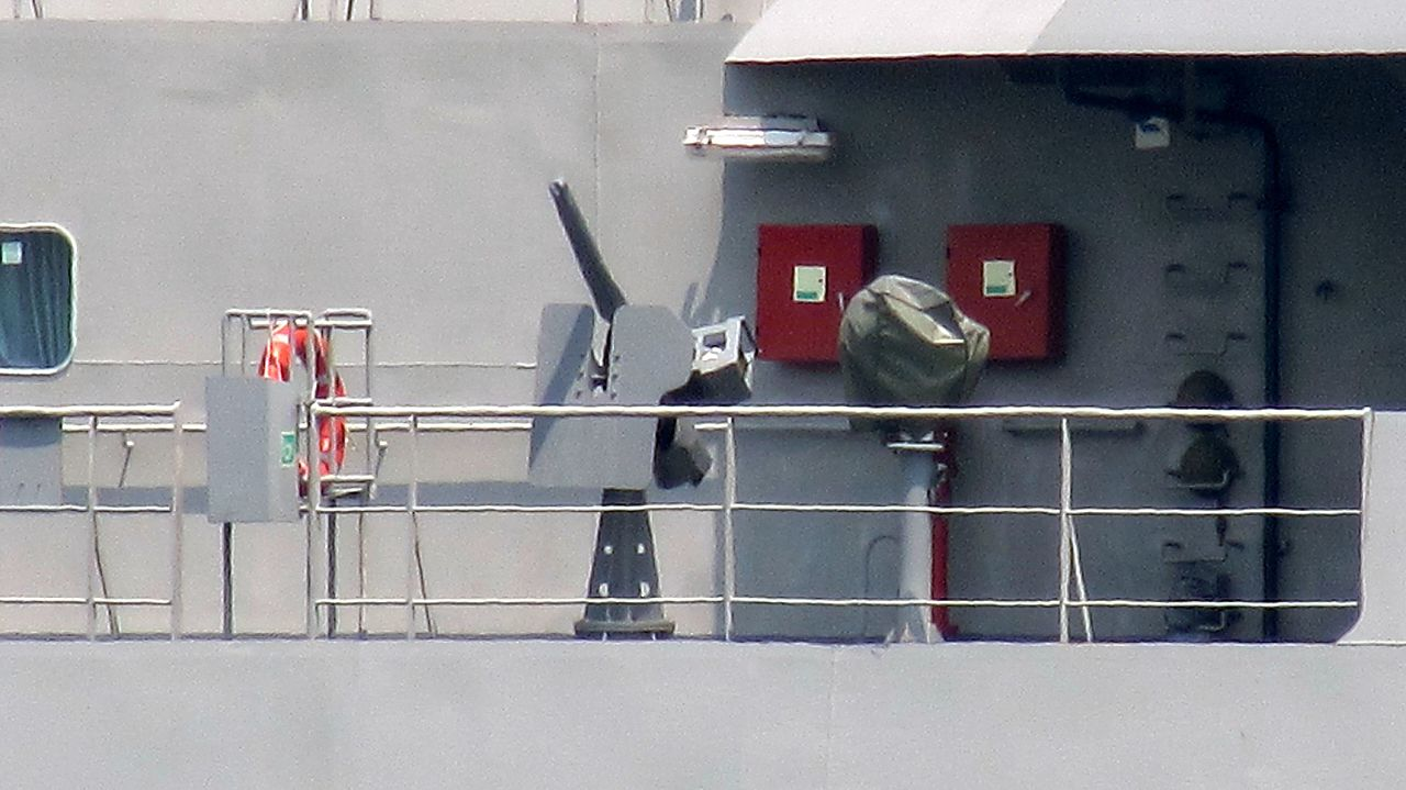 BRP Tarlac Bridge Starboard Machine Gun - Near View.jpg