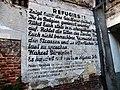 """BRUXELLES (Brussel) —Placard """"Réfugiés"""" -Immeuble du Comité d'Aide et d'Assistance aux Victimes de l'Antisémitisme en Allemagne.jpg"""