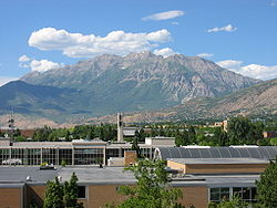 View from the BYU campus