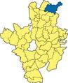 Babensham - Lage im Landkreis.png