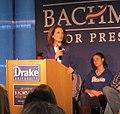 Bachmann at Drake University 012 (6355958053).jpg