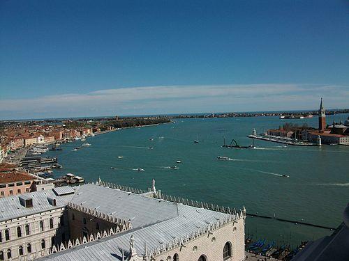 Bacino di San Marco des del campanar de sant Marc, Venècia.JPG
