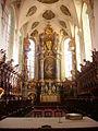 Bad Schussenried Kloster Schussenried St. Magnus Innen Chor 4.jpg