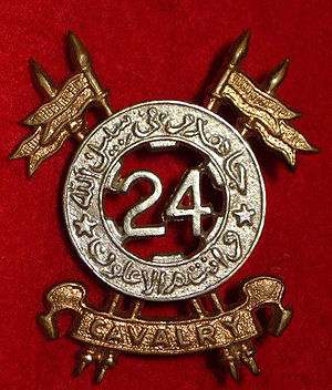 24th Cavalry (Frontier Force) - Badge of 24th Cavalry