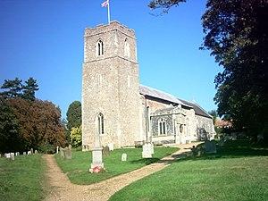 Badingham - Image: Badingham Church of St John the Baptist