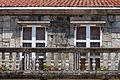 Balconada do pazo de Martelo na praza de Rafael Dieste de Rianxo. Galiza-2.jpg