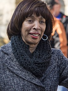 Catherine Pugh in 2017