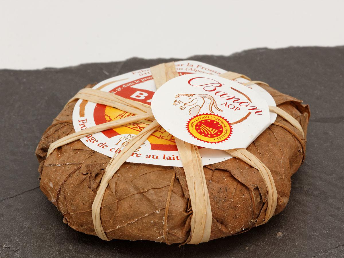 Banon fromage wikip dia for Chevre pour couper le bois