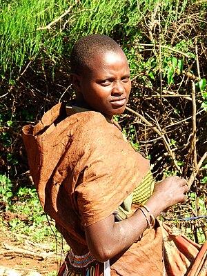 Barabaig people - Barabaig woman