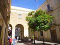 Barcelona - Distrito de Sant Andreu, Barrio de La Sagrera, Plaça de Masadas 6.jpg