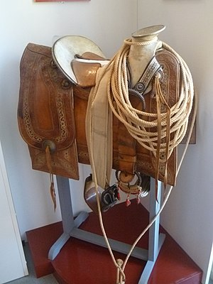 Charro - Saddle of a charro (Mexico, 19th century)