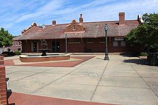 Barnesville Depot United States historic place