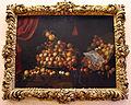 Bartolomeo bimbi, pesche e albicocche, 1700, 01 cornice di vittorio crosten.JPG