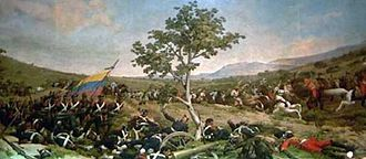 Valencia, Carabobo - Battle of Carabobo in 1821