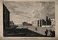 Baths of Diocletian, Rome; panoramic view. Etching by J. Gan Wellcome V0014408.jpg