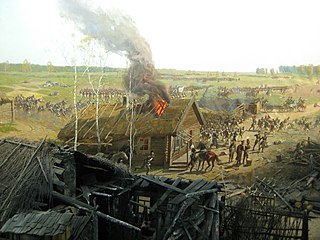 Panorama of the Battle of Borodino