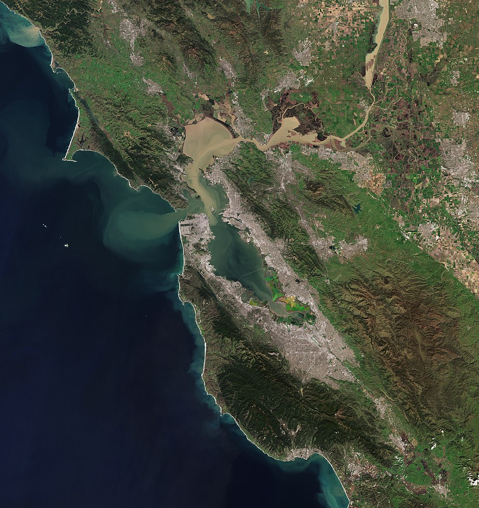 Bay Area by Sentinel-2