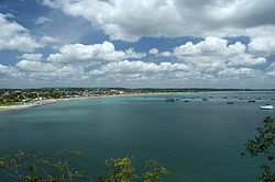 View of Trincomalee Bay