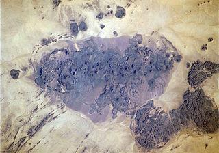Bayuda volcanic field mountain in Sudan