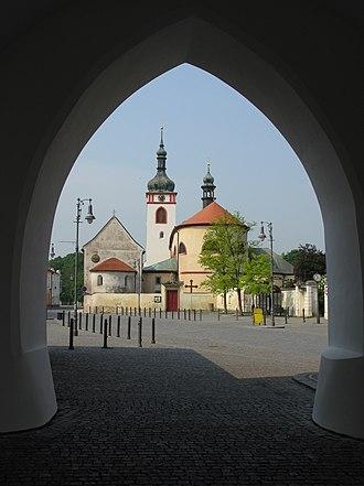 Brandýs nad Labem-Stará Boleslav - Image: Bazilikasv Vaclavasb