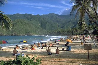 Aragua - Choroní Beach in the Henri Pittier National Park, Aragua state.