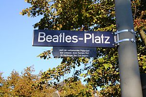 The Beatles in Hamburg - The Beatles-Platz in Hamburg