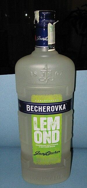 Lemond (alcohol) - Image: Becherovka Lemond (001)