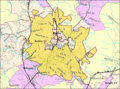 Beckley WV 2000 Census reference map.png