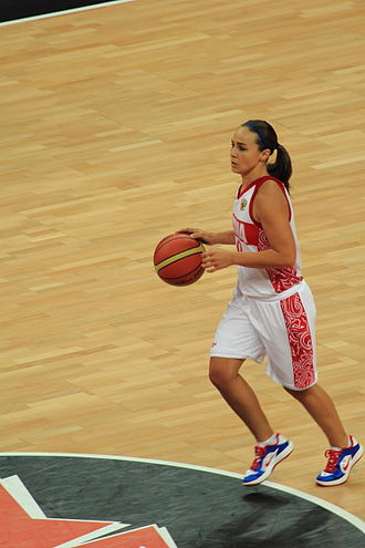 Becky Hammon - Hammon at the 2012 Summer Olympics