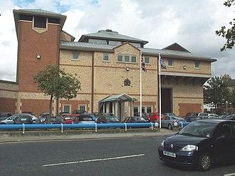 HM Prison Bedford - Image: Bedford Gaol