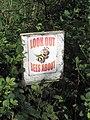 Bee sign - geograph.org.uk - 438513.jpg