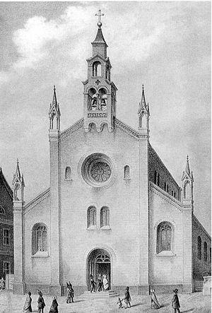 St. Marien am Behnitz - St. Marien am Behnitz 1848